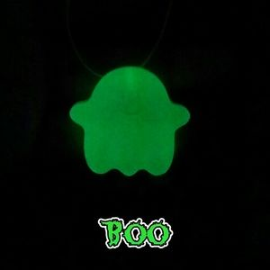 🚨Kawaii Goth Ghost Necklace